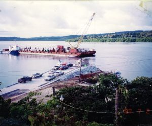 1997, Palau Floating Bridge (Palau)
