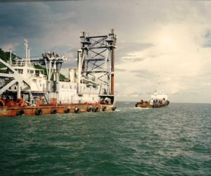 1997, Dredger Towing Project (Penang, Malaysia)