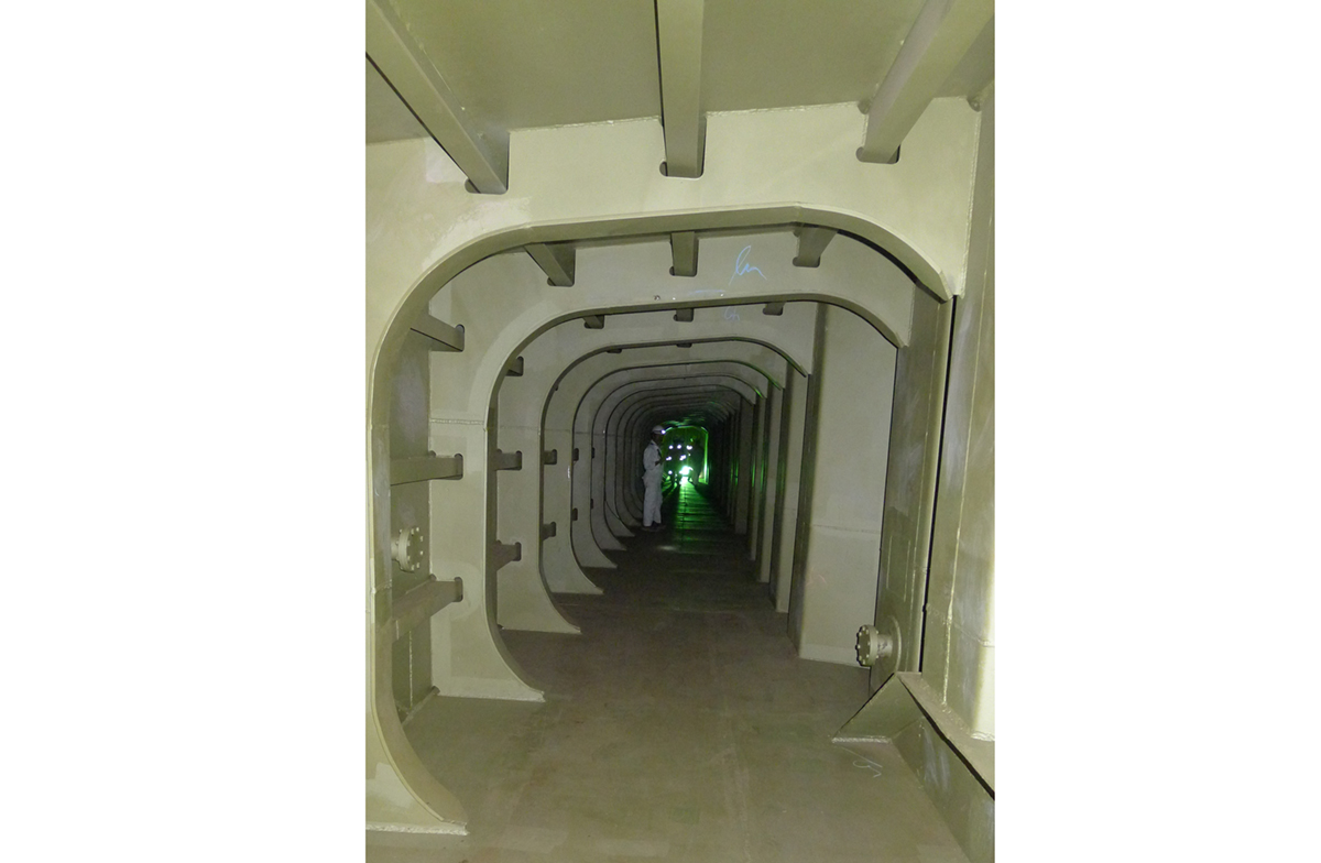 Innovative Tunnel System For Running Of Pipelines