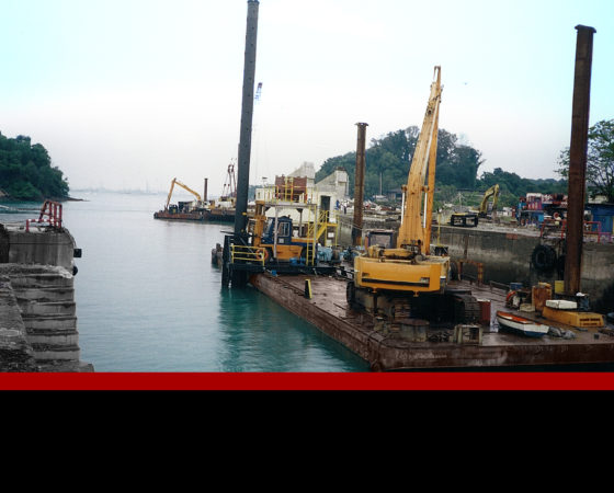 Near Shore Infrastructure Construction